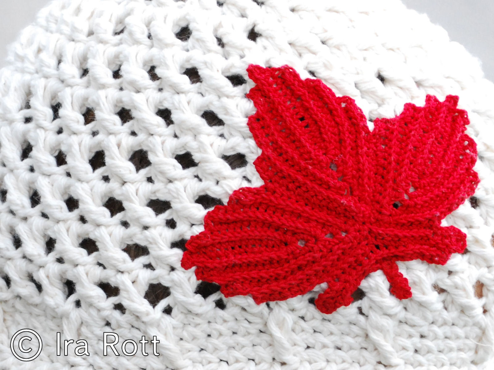 Free Knitting Pattern Canadian Maple Leaf : Crochet by Conroy: 4th of July & Canada Day Crochet Round Up