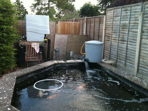 Home made filter polishing unit page 2 pond for Koi filter setup