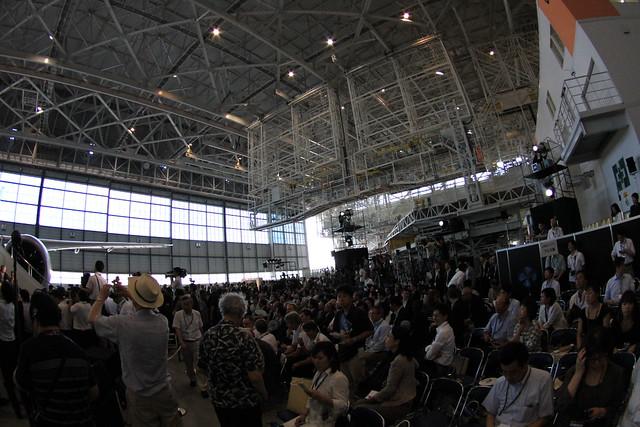 ANA「ボーイング787」SROV発表会