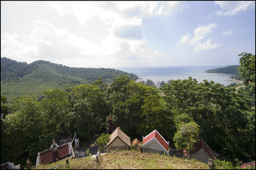 View from Koh Sirey temple