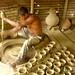 Manual Pottery Wheel - Najirpur, Bangladesh