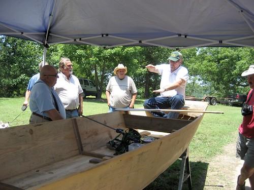 Larry Dablemont, explaining proper johnboat paddle technique