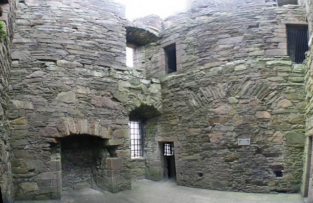 McLellans Castle room Panorama