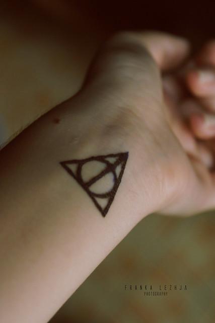 Deathly Hallows ...R Symbol