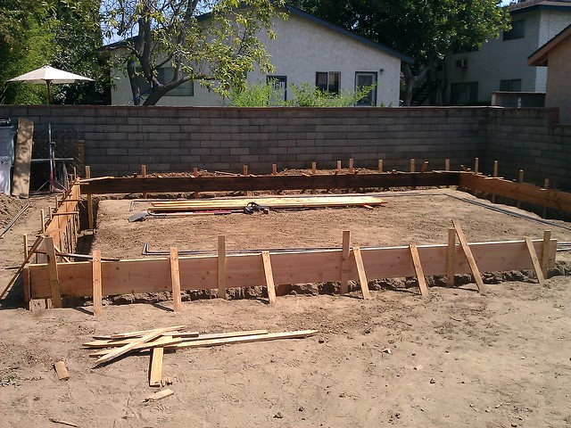 24x20 Garage Foundation Flickr Photo Sharing