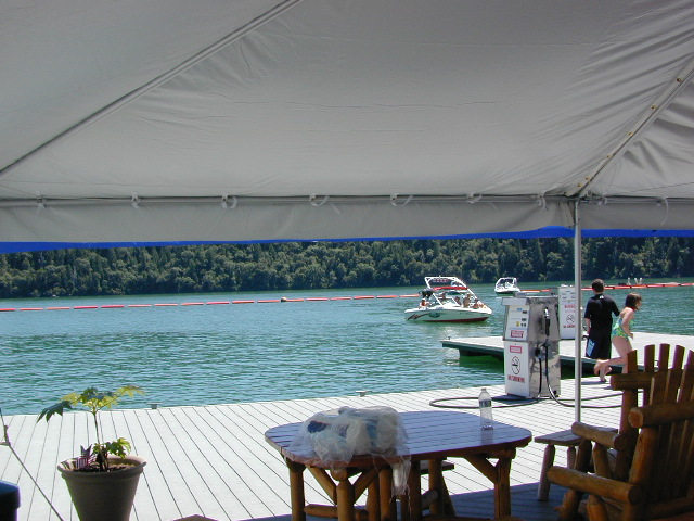 Big Shade at Emerald Cove Marina