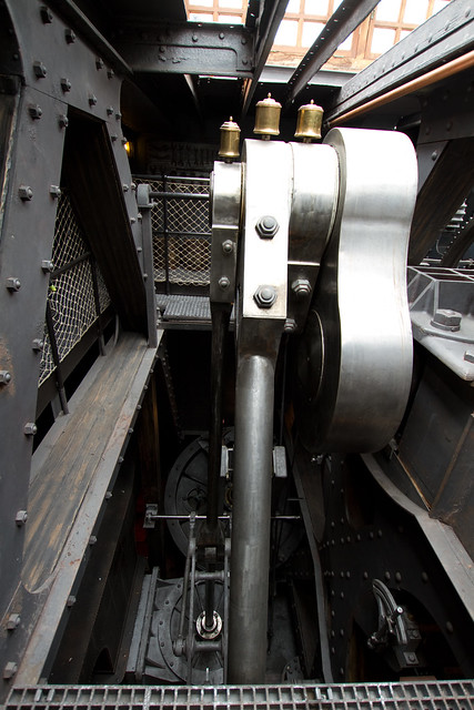 Steam Ship Engine Room: SS Great Britain Engine Room 0711 1
