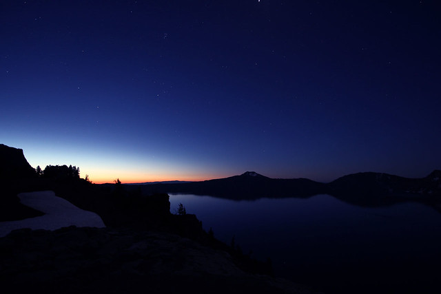 Crater Lake Trip - 2 - Hint Of Light