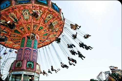 Mid-State Fair: Swinging