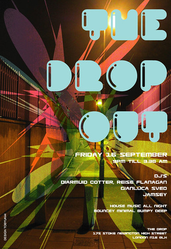 dropout flyer/poster, by toby by toby art