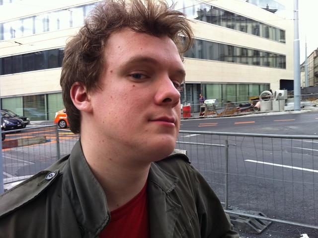 Header of Adam Harper