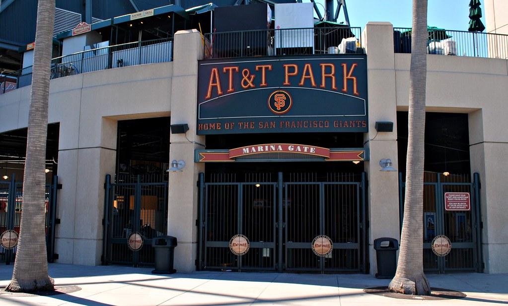 At T Park Marina Entrance Centerfield San Francisco Giants Flickr