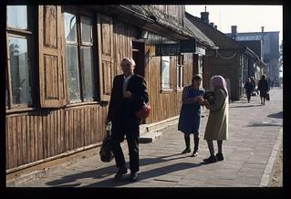 70. Sarghersteller in Gostynin (Gegend von Płock).