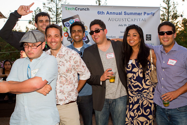 TechCrunch August Capital 2011 Summer Party