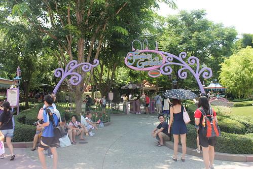Fantasy Gardens at Hong Kong Disneyland