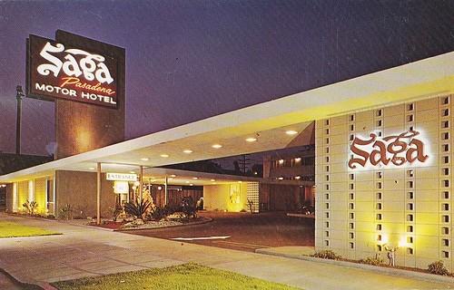 Flickriver hmdavid 39 s photos tagged with 1950s for Saga motor hotel pasadena ca