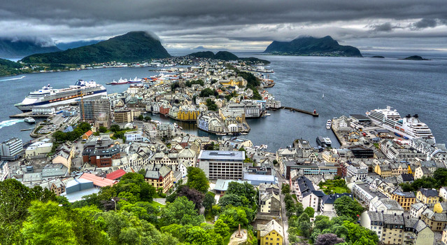 Alesund in Wonderland