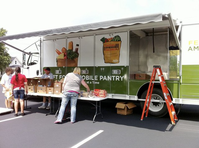 Mobile Food Pantry Lafayette Indiana