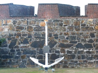 Image of Castle of Good Hope near Cape Town. wall marine fort capetown anchor context castleofgoodhope
