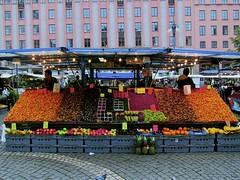 Hotorget Market, Stockholm
