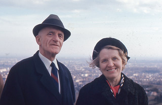 Vienna - Hans and Mary Irion at Kahlenberg