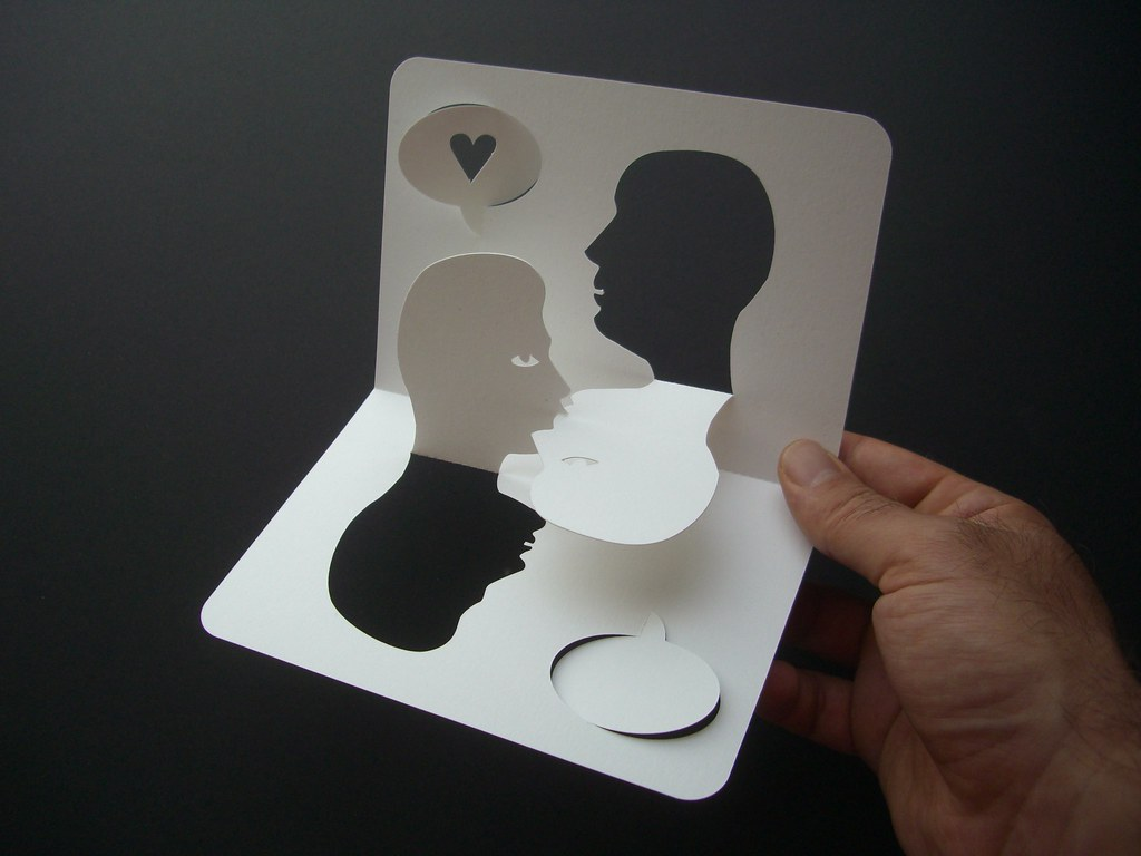 the kiss card