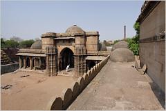 back to bai harir mosque, ahmedabad