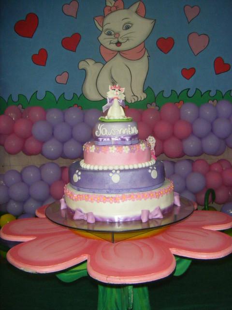 Bolo Gatinha Marie   Marie Cake