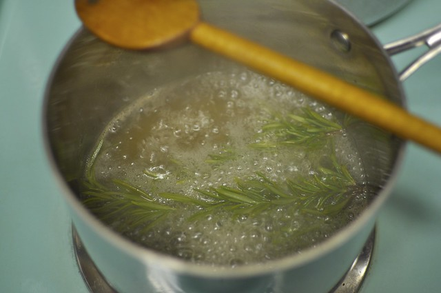rosemary lemon syrup