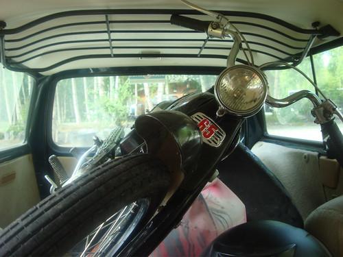 Transport jednośladów podczas przeprowadzki