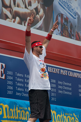 Nathan's Hot Dog Eating Contest Contestant