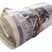 20 pound note roll