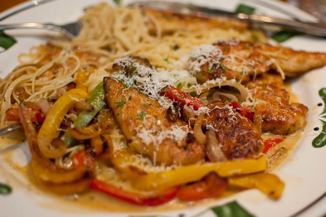 Olive Garden 39 S Chicken Scampi For Dinner Explore Annecn 39 S Flickr Photo Sharing