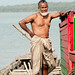Older Man on the River - Sundarbans, Bangladesh