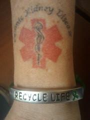 Recycle Life bracelet