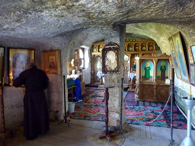 Rock-hewn monastery in Orhei