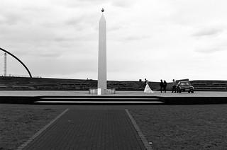 am Obelisk / Sonnenuhr