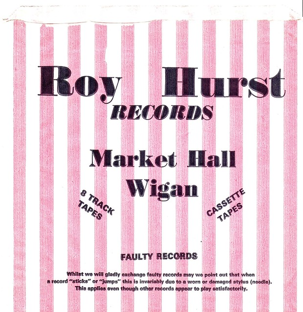 Roy Hurst Wigan record bag