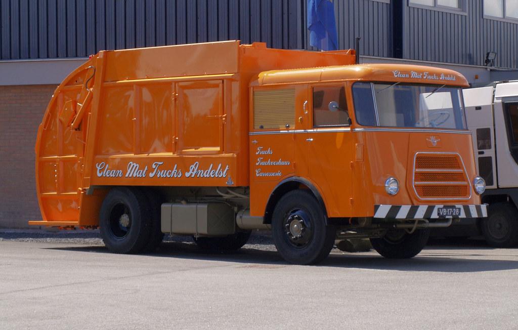 1962 DAF G1600 Huisvuilwagen / Garbage Truck  (NL)