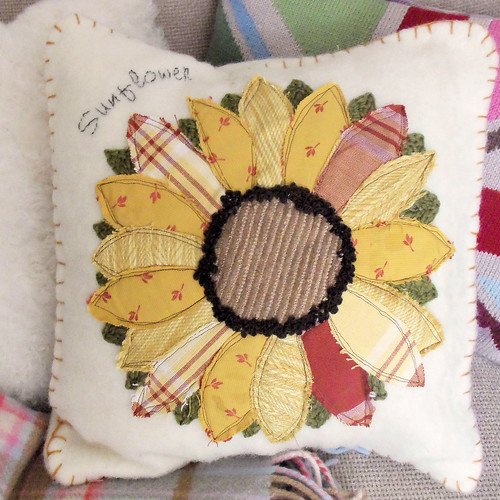 Sunflower Applique