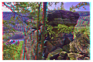 Almost on top :: Anaglyph Stereoscopic HDR 3D ::
