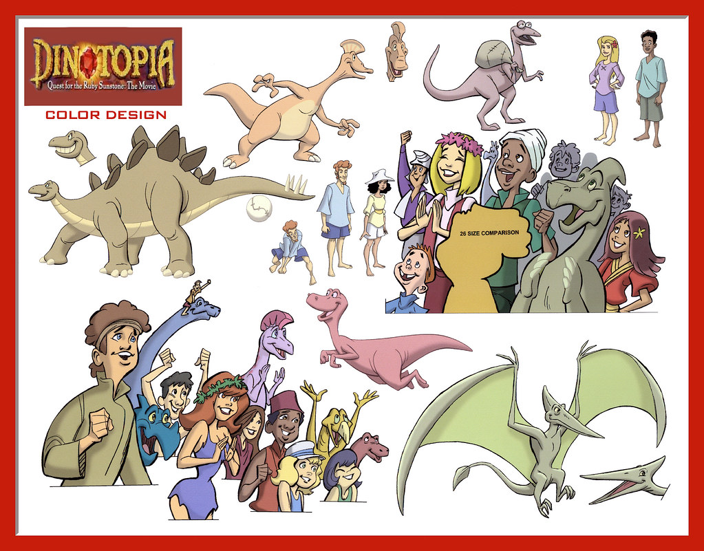 dinotopia coloring pages - photo#11