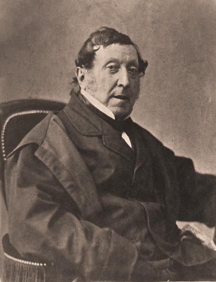 Rossini, 1854-60, by Nadar