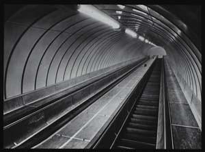 Completed escalators