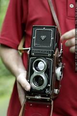 billy's rolleiflex twin lens reflex camera   he's sh…