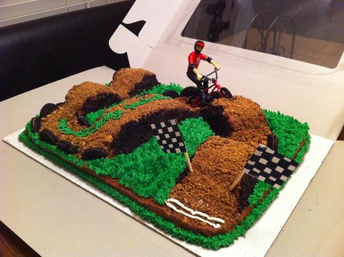 L.A. Sweets: BMX track cake
