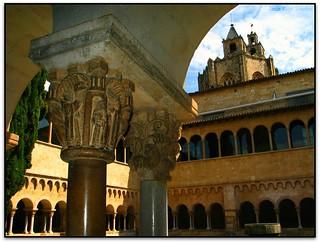 Escena monacal, Monestir de St. Cugat del Vallès