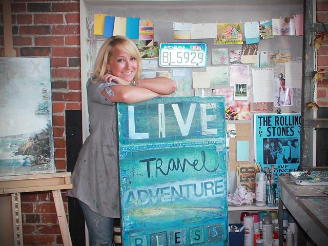 Mae Chevrette, artist