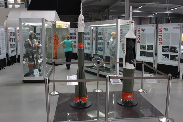 Modell: Sojus-Rakete