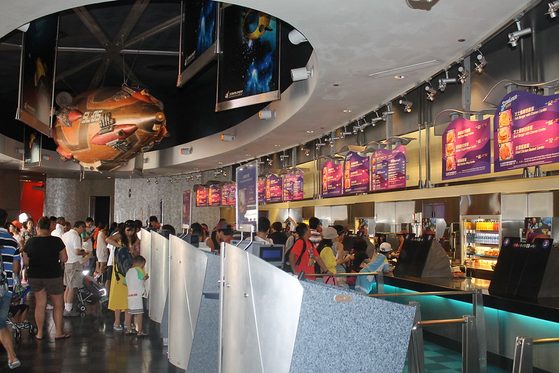 The StarLiner Diner at Hong Kong Disneyland